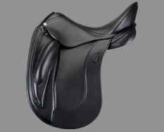 The Obrigado Dressage Saddle By Schleese-Most extreme shoulder freedom, and the deepest seat with soft french leather. Your butt will never want to get out of the saddle!